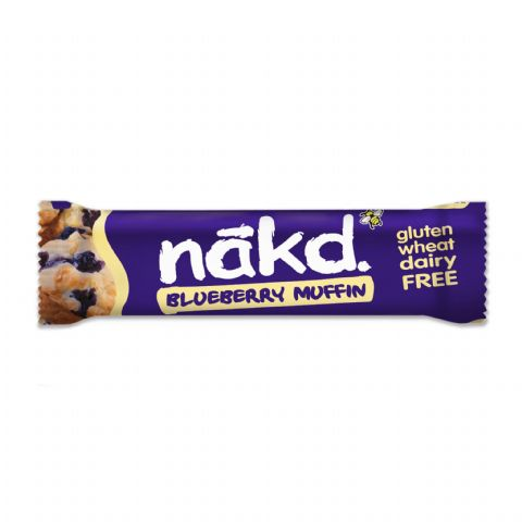 Blueberry Muffin - Nakd Raw Fruit & Nuts Bars 35g